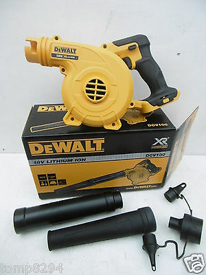 Brand New Dewalt 18V Dcv100 Leaf Jobsite Workshop Blower