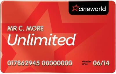 Cineworld Unlimited - 1 Month Free for us both and £5 to cancer research.
