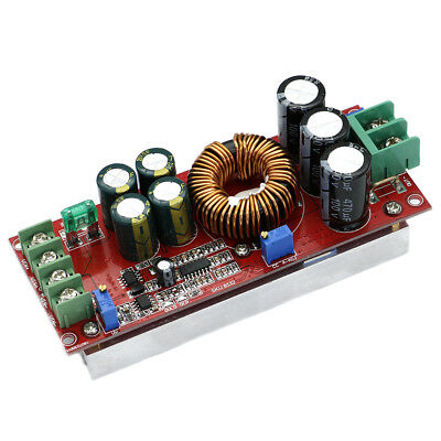 DC-DC Converter 20A 1200W Step up Step down Buck Boost Module 8-60V to 12-83V HD