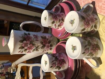 Pretty Pink  Royal Yamato Retro Coffee Set