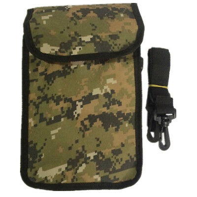 Camo Recovery Bag Beach Treasure Finds Pouch Metal Detecting Waist Bag w/ Belt