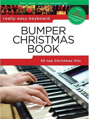 Really Easy Keyboard: Bumper Christmas Book. Sheet Music
