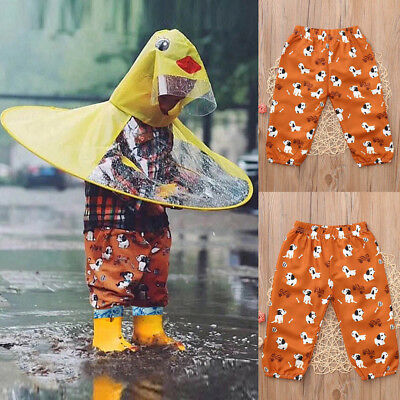 Toddler Kids Baby Girls Boys Cartoon Dogs Printed Pants Harem Trousers Clothing