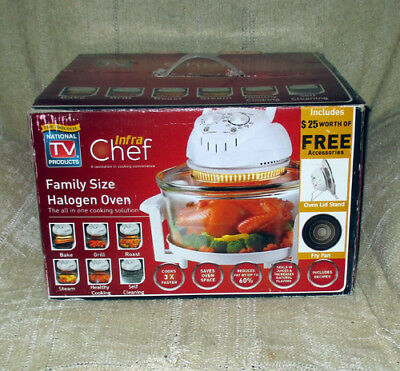 NOB InfraChef Family Size Halogen Convection Oven With Extras