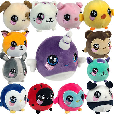 kids Squeeze Animal Squishies Squeezamals Plush Squishy Slow Rising Soft Toy