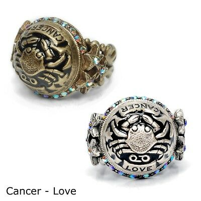 SWEET ROMANCE Cancer Zodiac Rings NWT FREE SHIPPING MADE IN USA