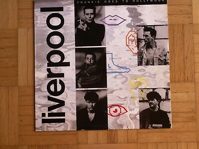 """FRANKIE GOES TO HOLLYWOOD""""Liverpool"""" LP (1986) Made in Germany"""