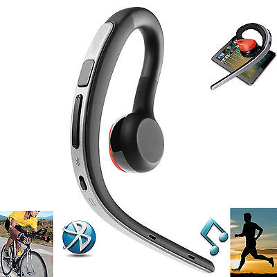 Wireless Bluetooth Headset Stereo Headphone Earphone for iPhone Samsung HTC Moto