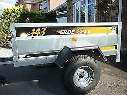erde 143  trailer and flat cover