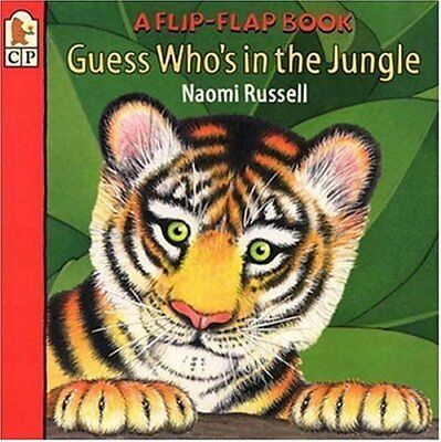 Guess Who's in the Jungle (Flip-flap Book) by Russell, Naomi Book The Cheap Fast