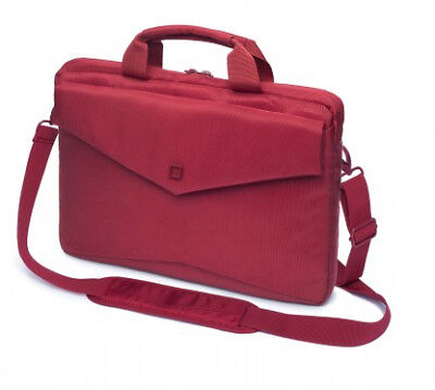 """Dicota D30607 Code Slim Case 15"""" 15"""" Briefcase Red Polyester - 600g - Red"""