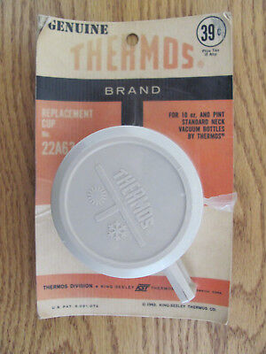 NOS Vintage 1963 Thermos Lunchbox Replacement Cup No. 22A63