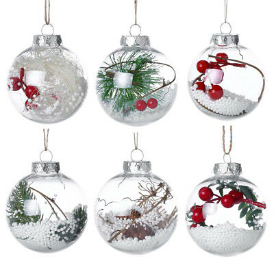 Christmas Tree Pendant Hanging Home Ornament Christmas Party Decoration Ball NEW