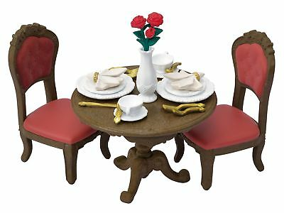 Epoch Sylvanian Families Chic Dining Table Set Tf 05 Town Series Calico Critters