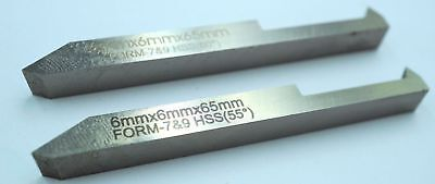 Pack of Two HSS Threading Tools Metric & Imperial 6mm  (Ref: 136200)