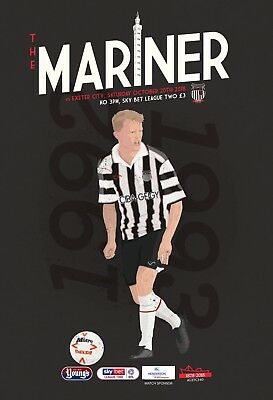 Grimsby Town Football Club - 18/19 Programme - Exeter City - 20/10/18
