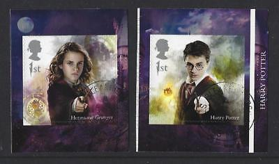 Great Britain 2018 Harry Potter Self Adhesive Booklet Pair  Fine Used