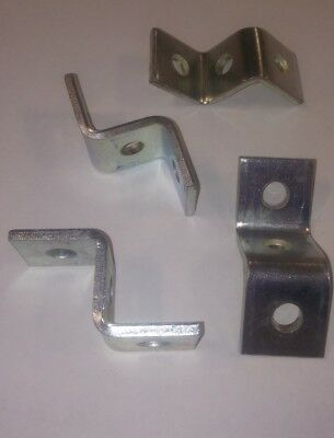 "Unistrut P1043 ""Z"" Fitting (25pcs) Zinc"