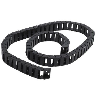 1X(10 x 20mm 1M Open On Both Side Plastic Towline Cable Drag Chain E7Y1)
