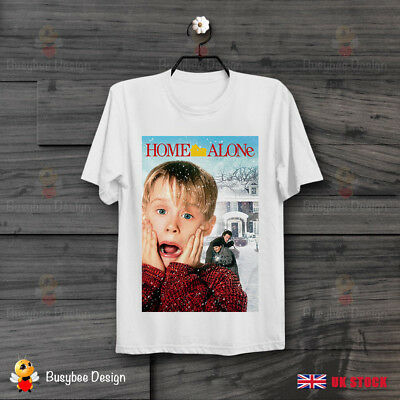HOME ALONE MOVIE POSTER  COOL FUNNY VINTAGE UNISEX  T Shirt B261