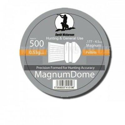 David Nickerson Magnum Dome Air Pellets .177 Sporting Outdoors Shooting
