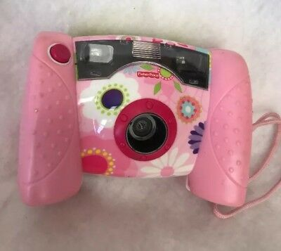 Fisher Price Kid Tough Pink Floral Digital Camera