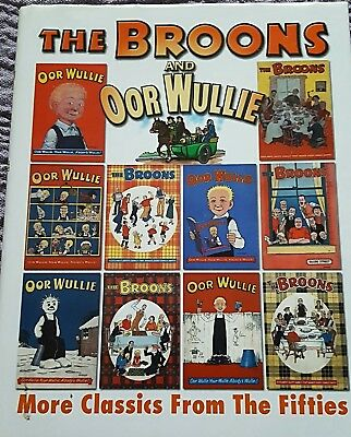 The Broons and Oor Wullie books