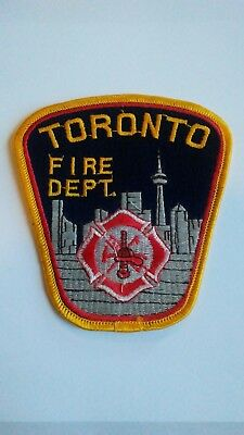 Toronto Fire Department Patch