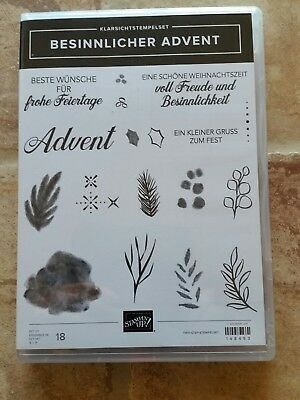 Stampin up, Stempelset besinnlicher Advent ** NEU***