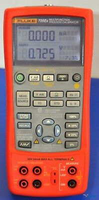 Fluke 725Ex Multifunction Process Calibrator - NIST Calibrated w/ Data, Warranty