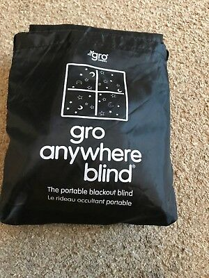 Gro Company Gro Anywhere Blackout Blind used once!