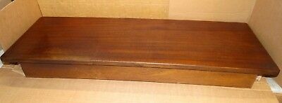 Vintage Piano-Organ Bench W/Storage Wurlitzer Baldwin Allen Hammond *Large*