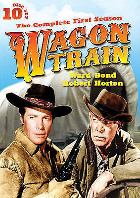 WAGON TRAIN SEASON 1 DVD 10 Discs Collector's Tin Ward Bond FREE SHIPPING