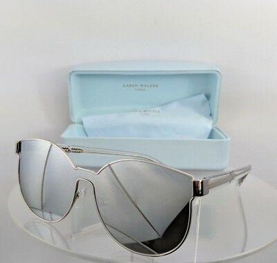 a626be1f8374 BRAND NEW AUTHENTIC Karen Walker Sunglasses STAR SAILOR Silver Frame ...