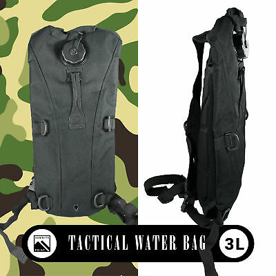 US 3L Water Bladder Bag Military Hydration Hiking Camping Backpack Camelbak BLK