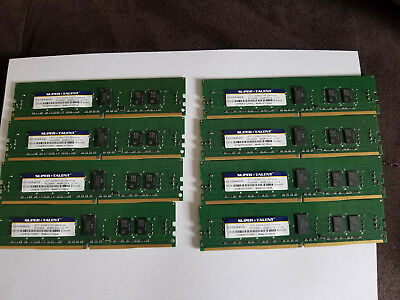 Super Talent DDR4 2133 32GB (8x 4GB / 512x8) ECC/REG Server RDIMM Samsung Chip