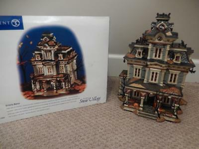 Department 56 Halloween Grimsly Manor #56.55004 Haunted House