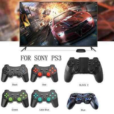 Bluetooth Wireless Game Controller Remote Control Gamepad Joystick For Sony PS3