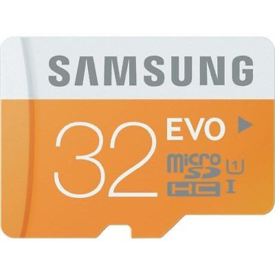 Samsung 32GB EVO 48MB/s Class 10 MicroSD SDHC UHS-I Memory Card SD Adapter