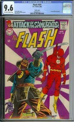 Flash #181 Cgc 9.6 Ow/wh Pages