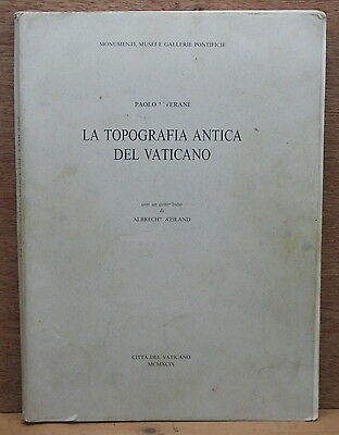 The Ancient Topography of the Vatican State Italy Archaeology 1999