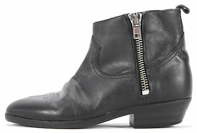 GOLDEN GOOSE DELUXE BRAND NWT/NWB $535 Black Ankle Boots Size 37