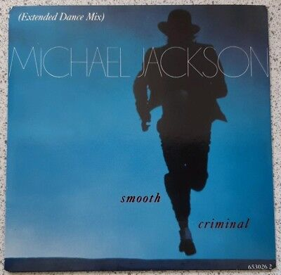 MICHAEL JACKSON  Smooth Criminal (Extended Dance Mix). 3 track CD single. 1988.