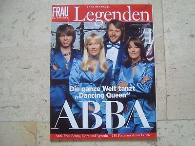 ABBA Agnetha Frida SPECIAL cover magazine LEGENDEN Collectors Edition 100 pages