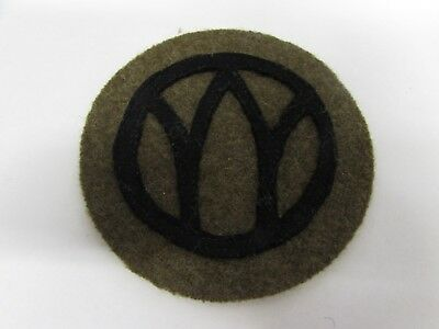 WWI era US Army 89th infantry division the rolling W patch.