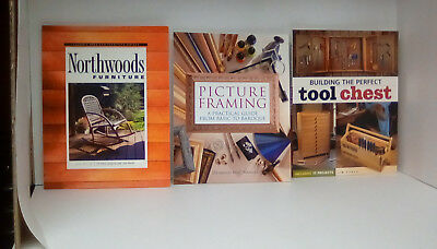 Woodworking books 3 soft cover in excellent condition