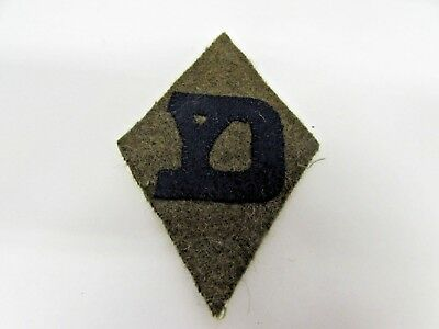 WWI era US Army 26th infantry division wool patch yankee division.