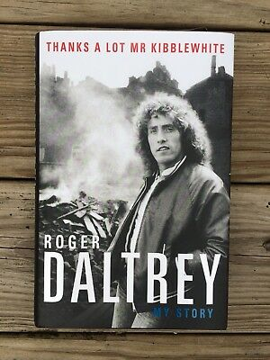Roger Daltrey (the Who) signed autobiography - Just Released Brand new