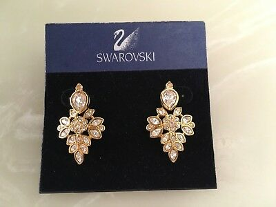 Swarovski signed earrings