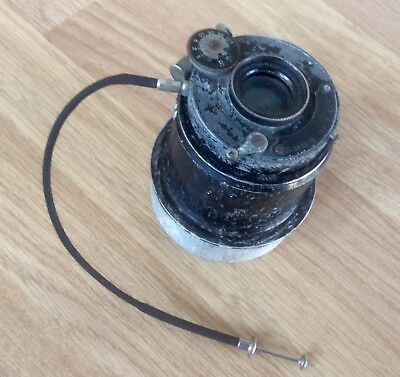 Antique Camera Lens Hugo Meyer & Co Gorlitz Anastigmat 1:6.6 f=135,AGC Shutter